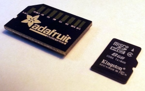 Adafruit Halfsize MicroSD Adaptor