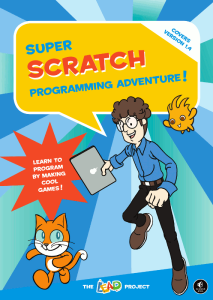 Super Scratch Programming Adventure! available from No Starch Press