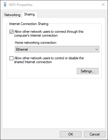 InternetConnectionSharing