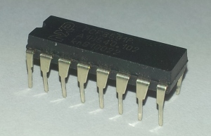 The 16-Pin PCF8591P 8-Bit 4Ch ADC and DAC chip