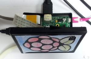 Raspberry Pi Camera installed in my case (with yet another modification for easy mounting)