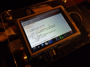 Editing Python code in Idle on the go!