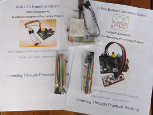 Mini-Breadboard & Self-Solder Combo Kit - For everything in Chapter 6
